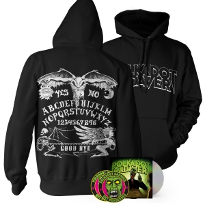 CD/Patch/Sticker/Ouija Board Hoodie Bundle