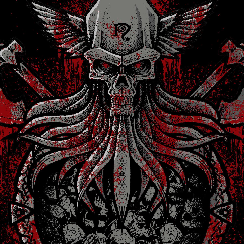 Gory Days Skull Axe