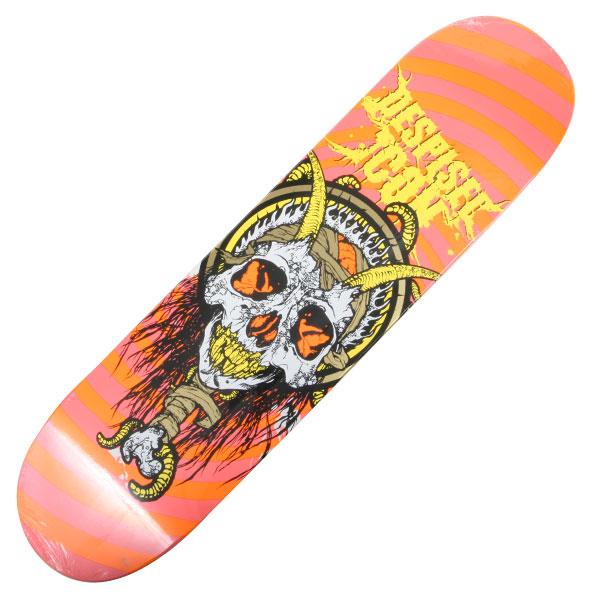 despised icon quot school skateboard orange pink