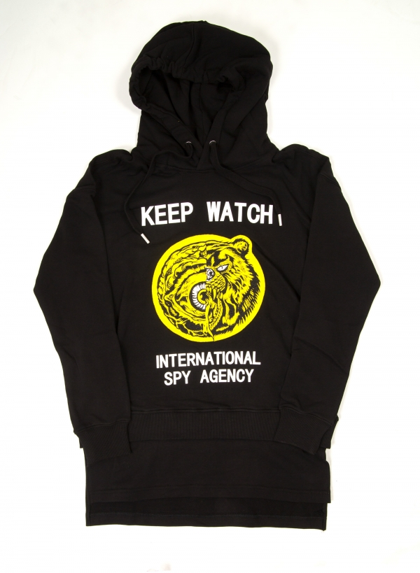International Spies Long Pullover Hoody