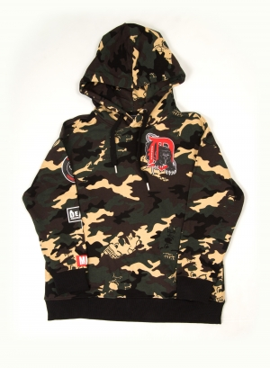 Motor City Adders Pullover Hoody