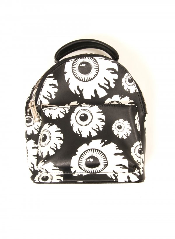 Allover Keep Watch Mini Backpack