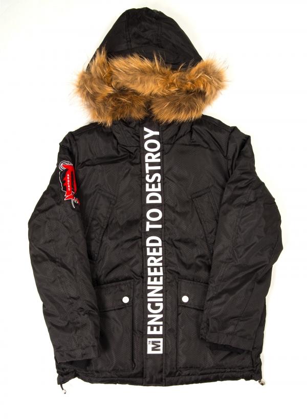 Motor City Adders Hooded Down Jacket