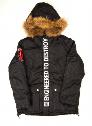Motor City Adders Hooded Down Jacket
