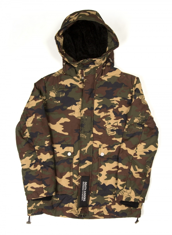 Lamour On Sight Camo Hooded Down Jacket