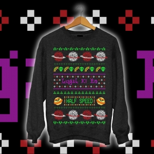 """Half Speed Holiday"" Ugly Christmas Sweater"