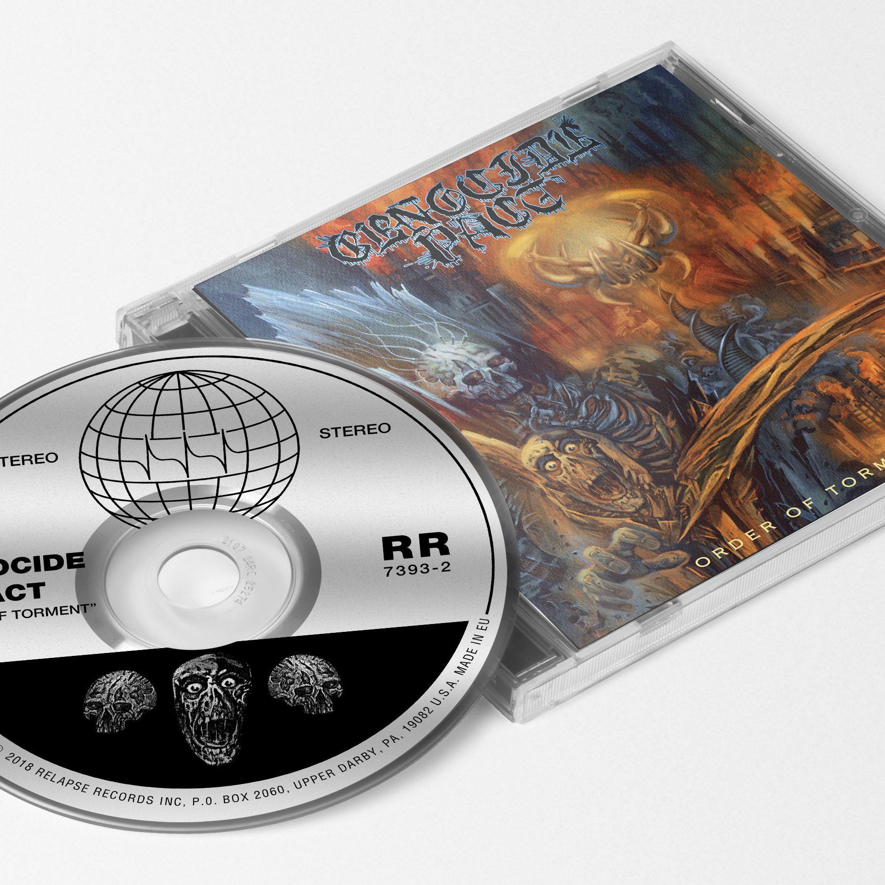 Order of Torment T Shirt + CD Bundle