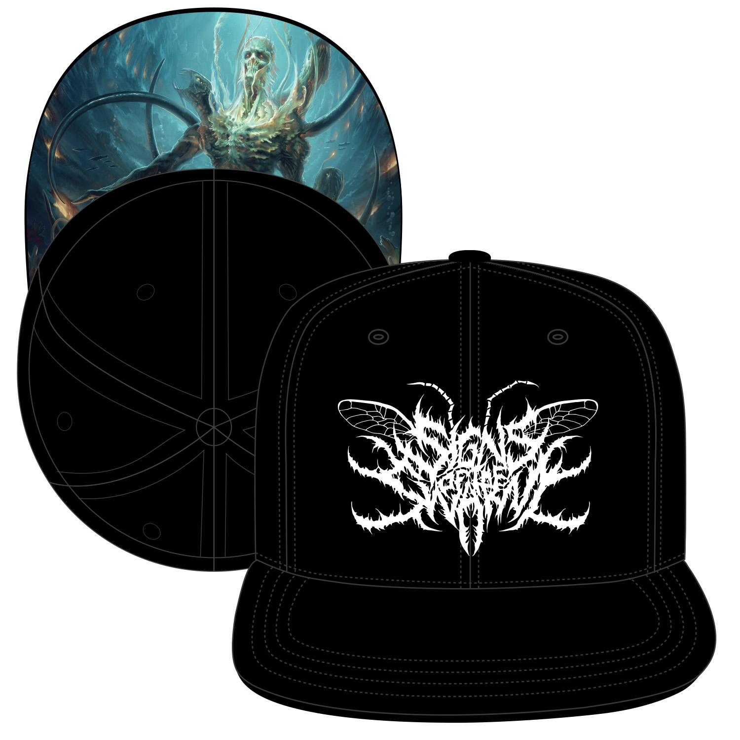 signs of the swarm quotlogo coverquot hat unique leader records