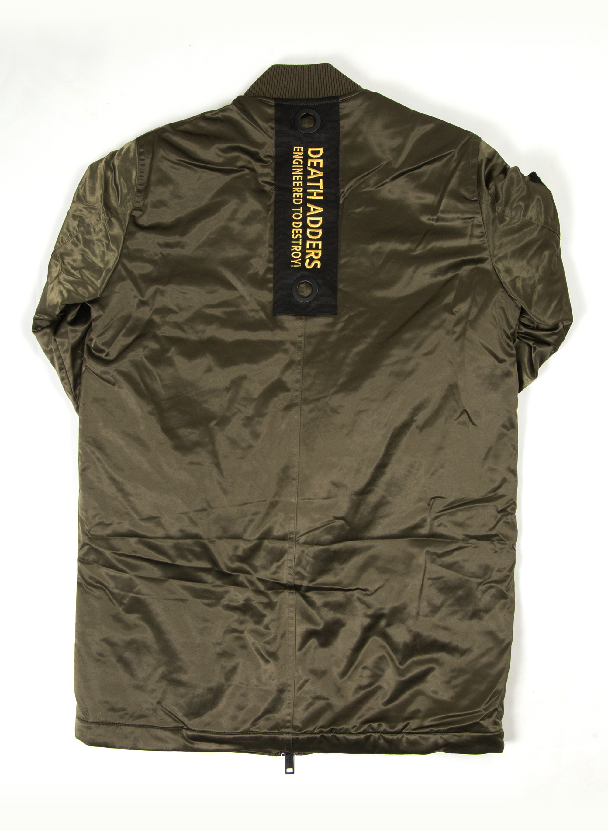 Marksman Long Nylon Jacket