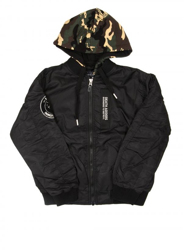 DA Block Hooded Jacket