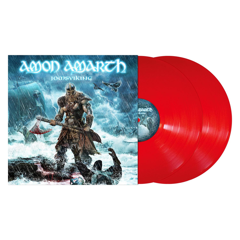 Amon Amarth Quot Jomsviking Red Vinyl Quot 2x12 Quot Metal Blade