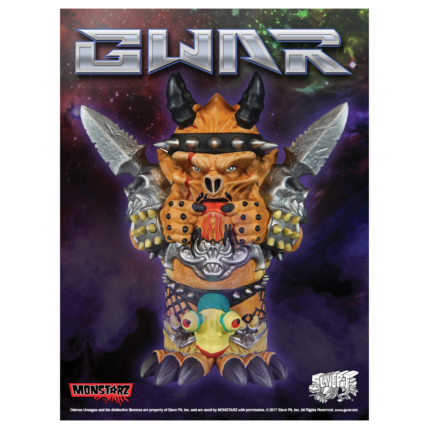 Monstarz Oderus Urungus Mini Figure