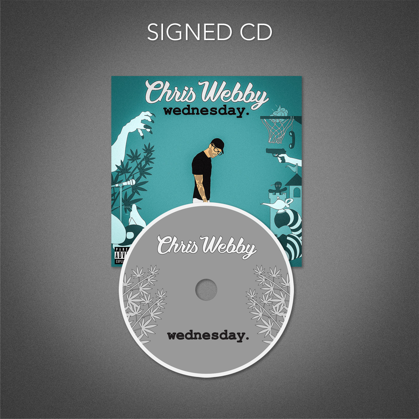 Wednesday Signed CD