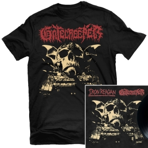 Gatecreeper - Dead Inside T Shirt + Split LP Bundle