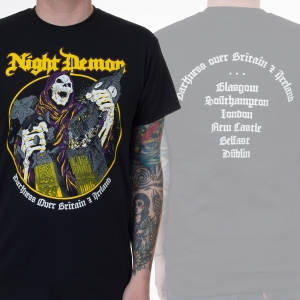 Darkness Over Britain & Ireland Tour Tee
