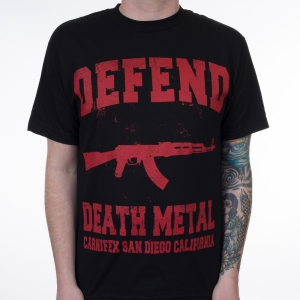 Defend Death Metal (red)