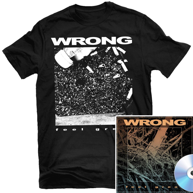 Feel Great T Shirt + CD Bundle