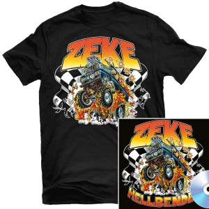 Hellbender T Shirt + CD Bundle