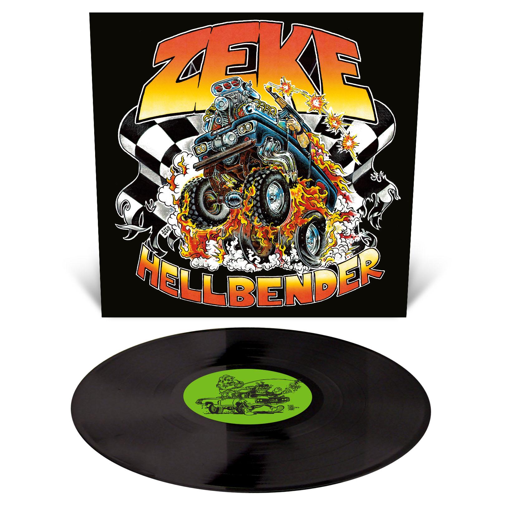 Hellbender T Shirt + LP Bundle