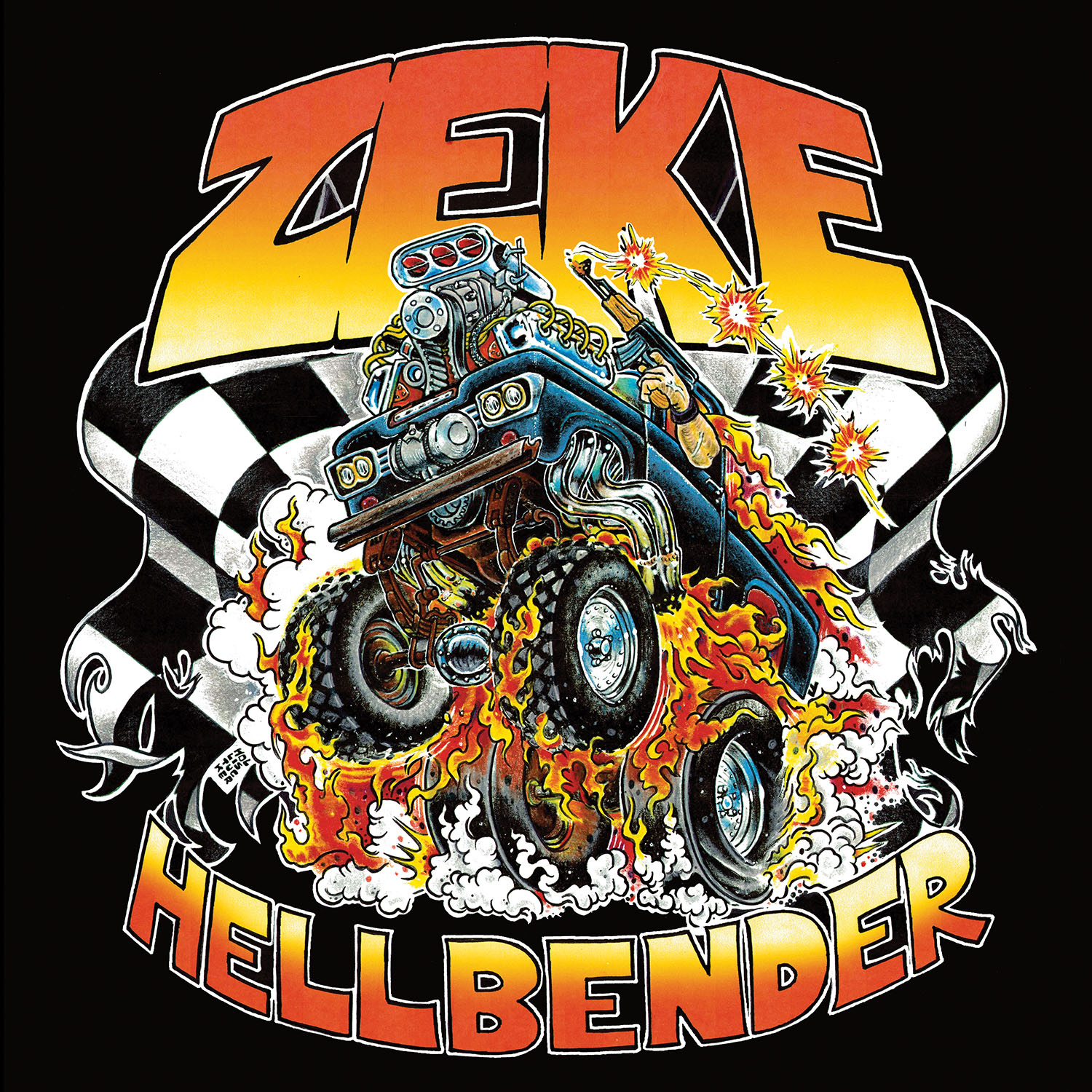 Hellbender T Shirt + Deluxe LP with Keychain Bundle