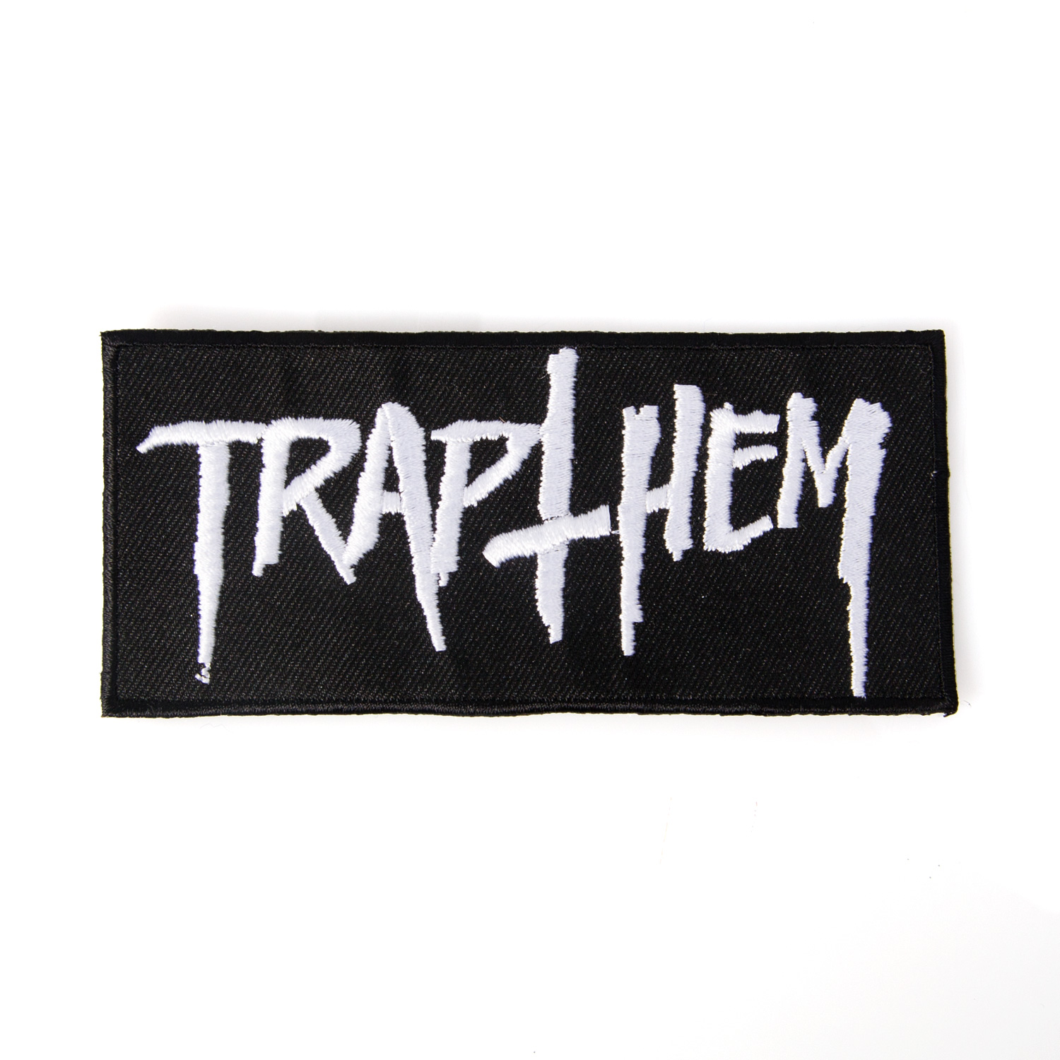 trap them logo patch trap them
