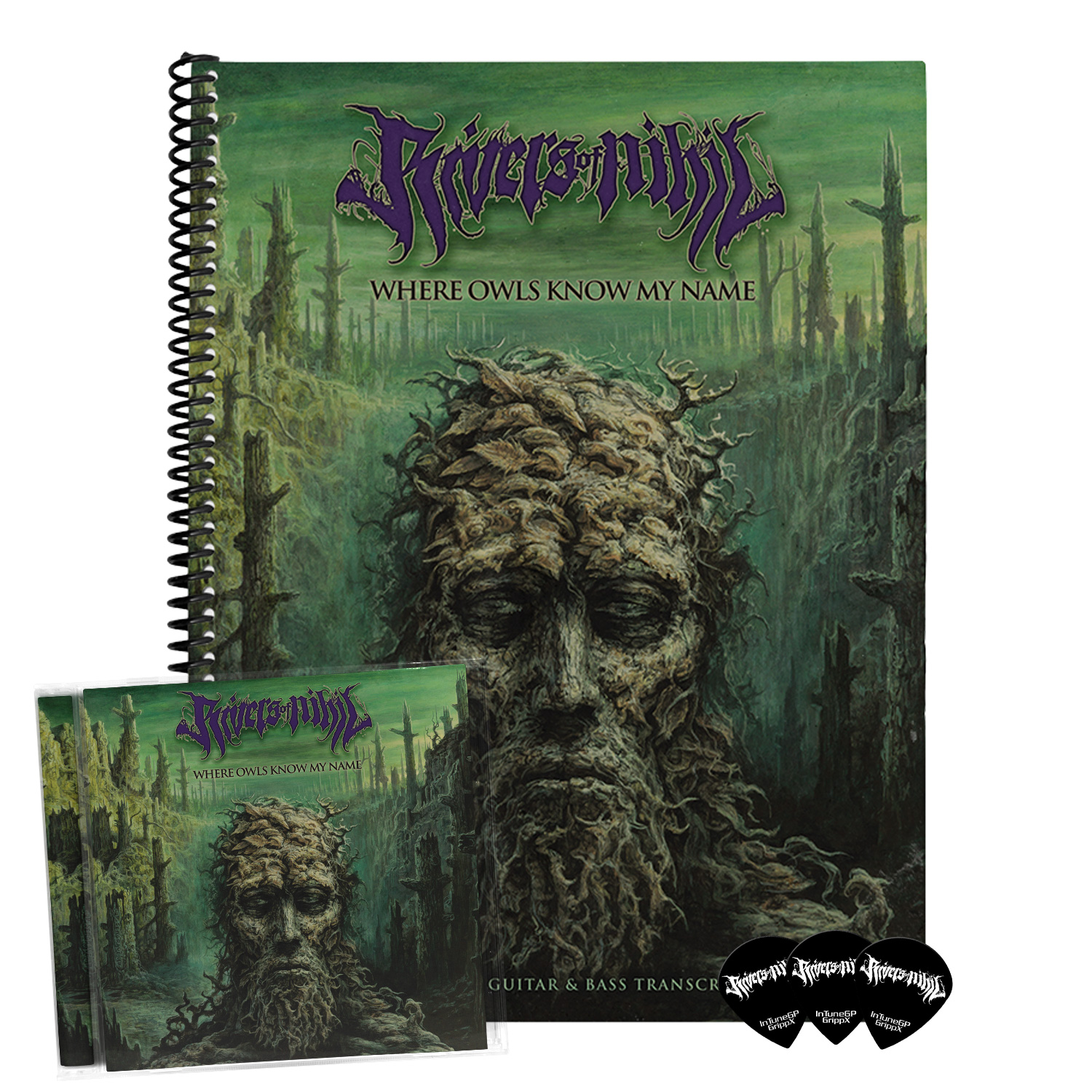 Where Owls Know My Name Guitarists & Bassists Bundle