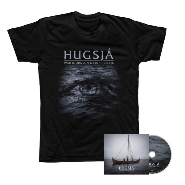 Hugsjá CD + Tee Bundle