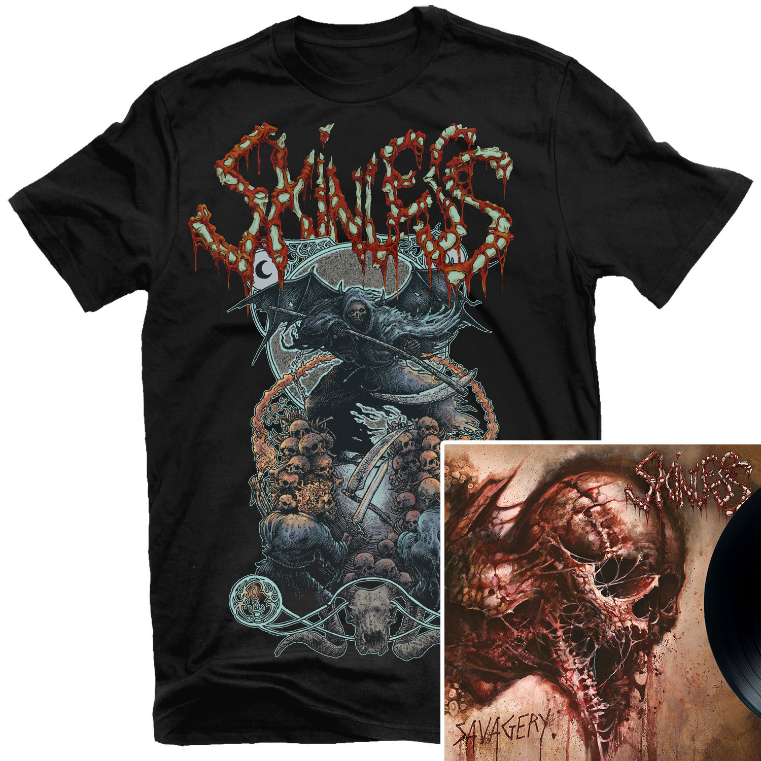 Savagery T Shirt + LP Bundle