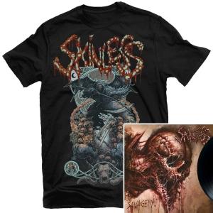 Savagery T Shirt + LP Bundle
