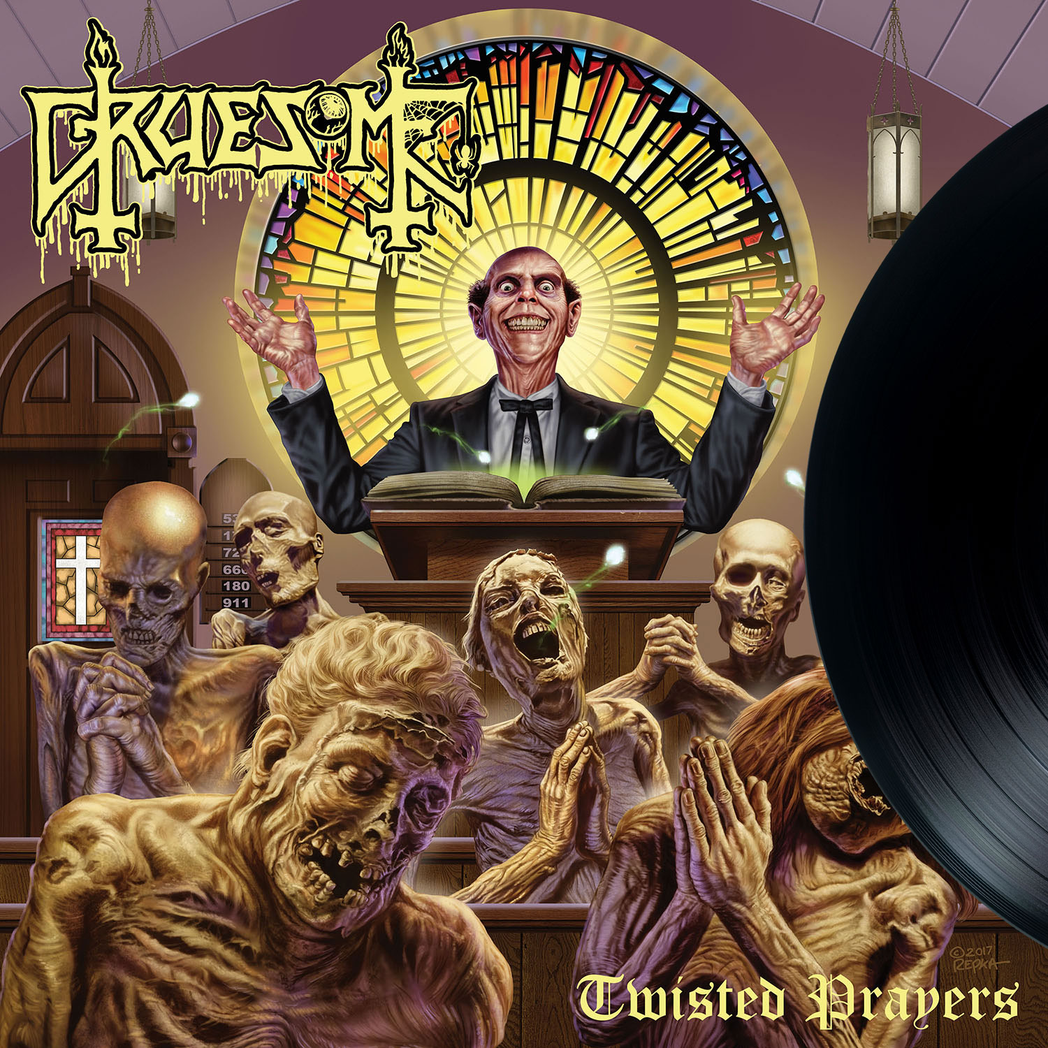 Gruesome Quot Twisted Prayers Quot 12 Quot Relapse Records