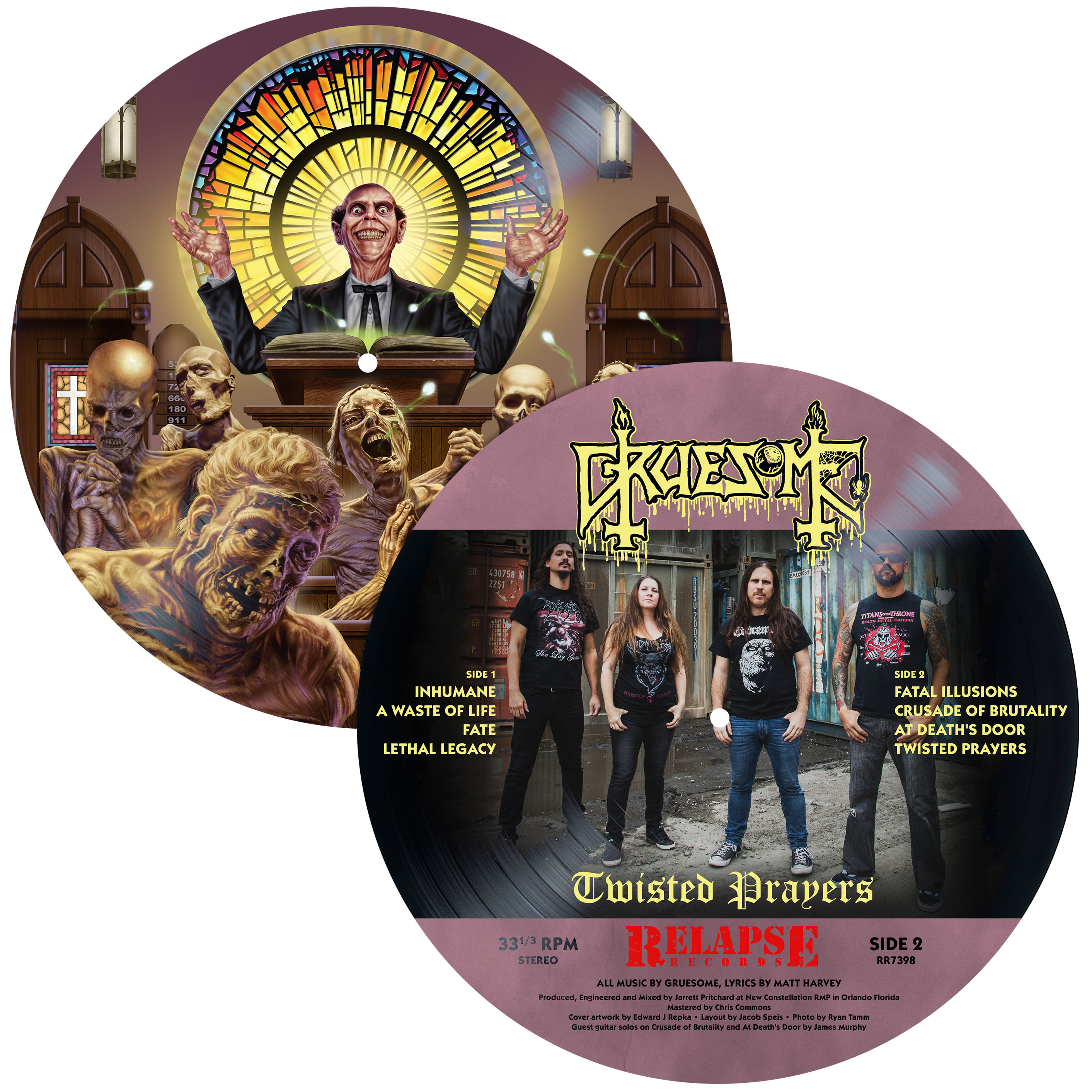 Twisted Prayers LP + Picture Flexi Disc Deluxe Package