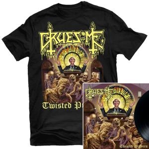 Twisted Prayers T Shirt + LP Bundle