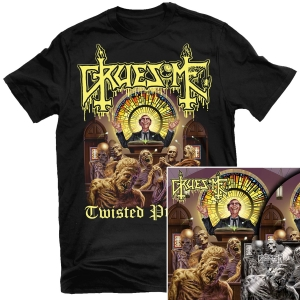 Twisted Prayers T Shirt + Deluxe LP Bundle