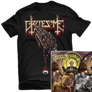 Crusade of Brutality T Shirt + Deluxe LP Bundle