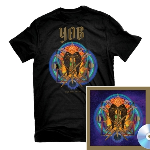 Our Raw Heart T Shirt + CD Bundle