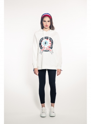 Keep Watch Crest Girl's Pullover Hoody