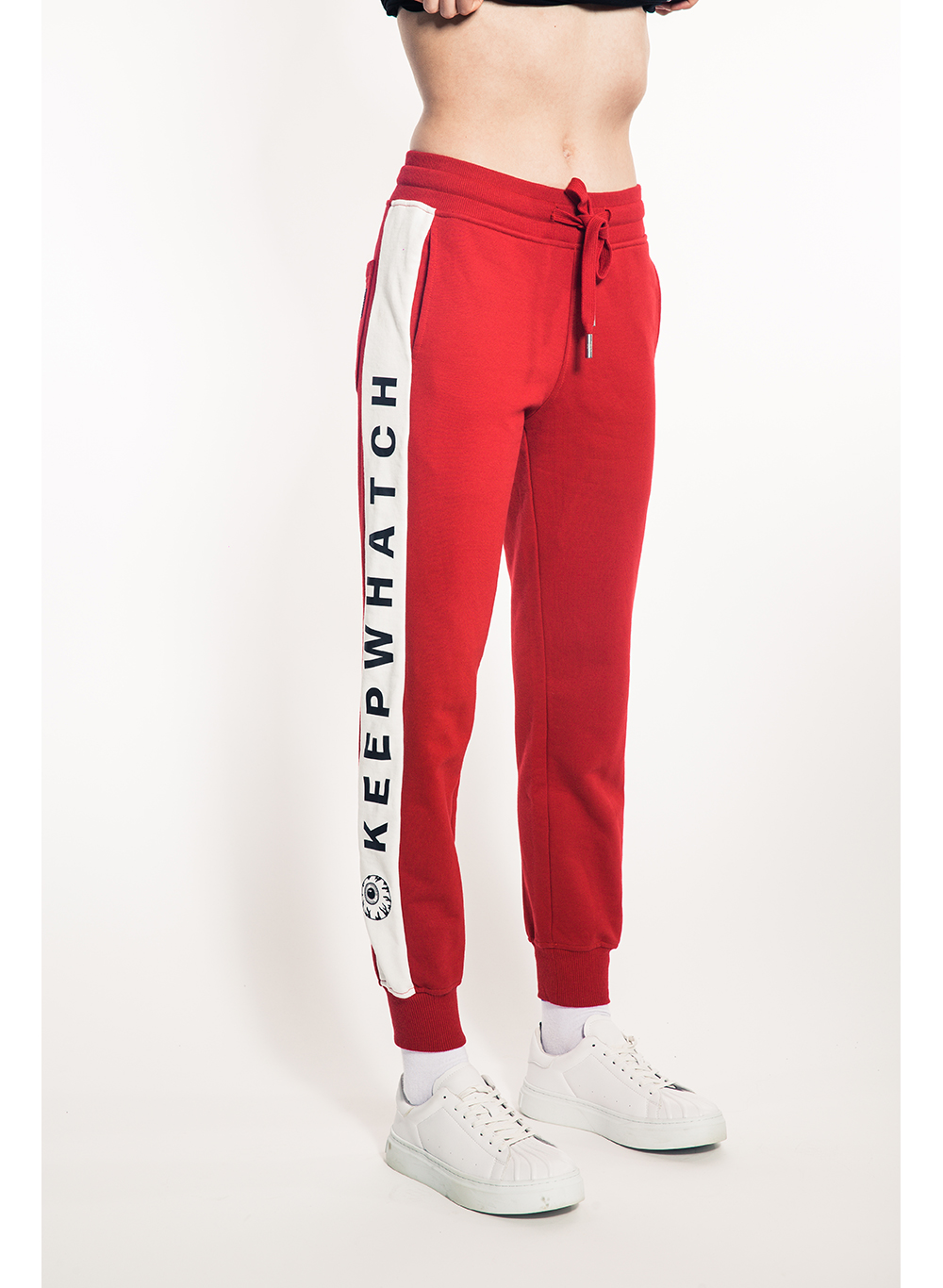 Keep Wha?tch Stripe Women's Sweatpants