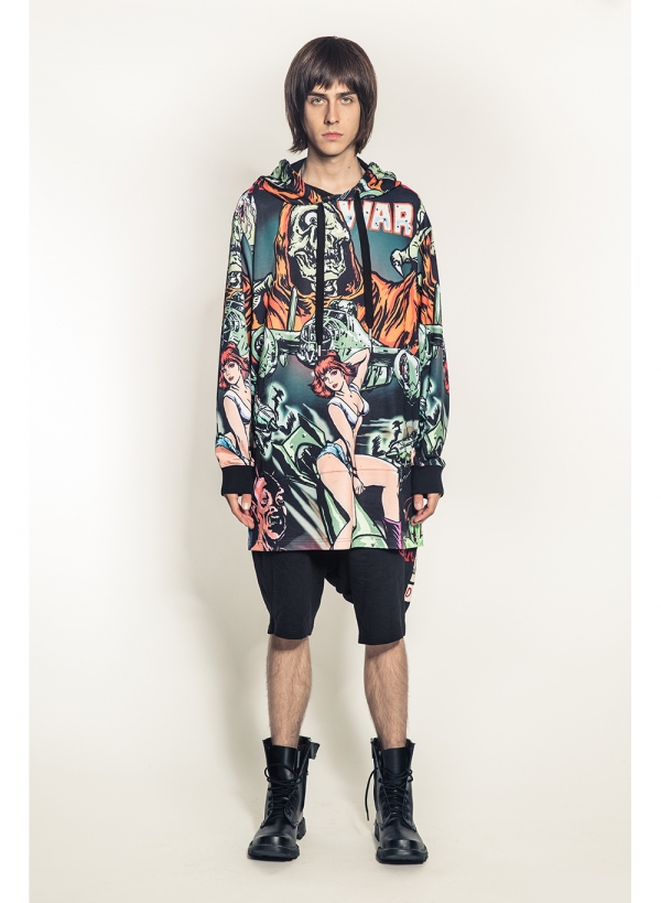 Lamour War Allover Sublimated Pullover Hoody
