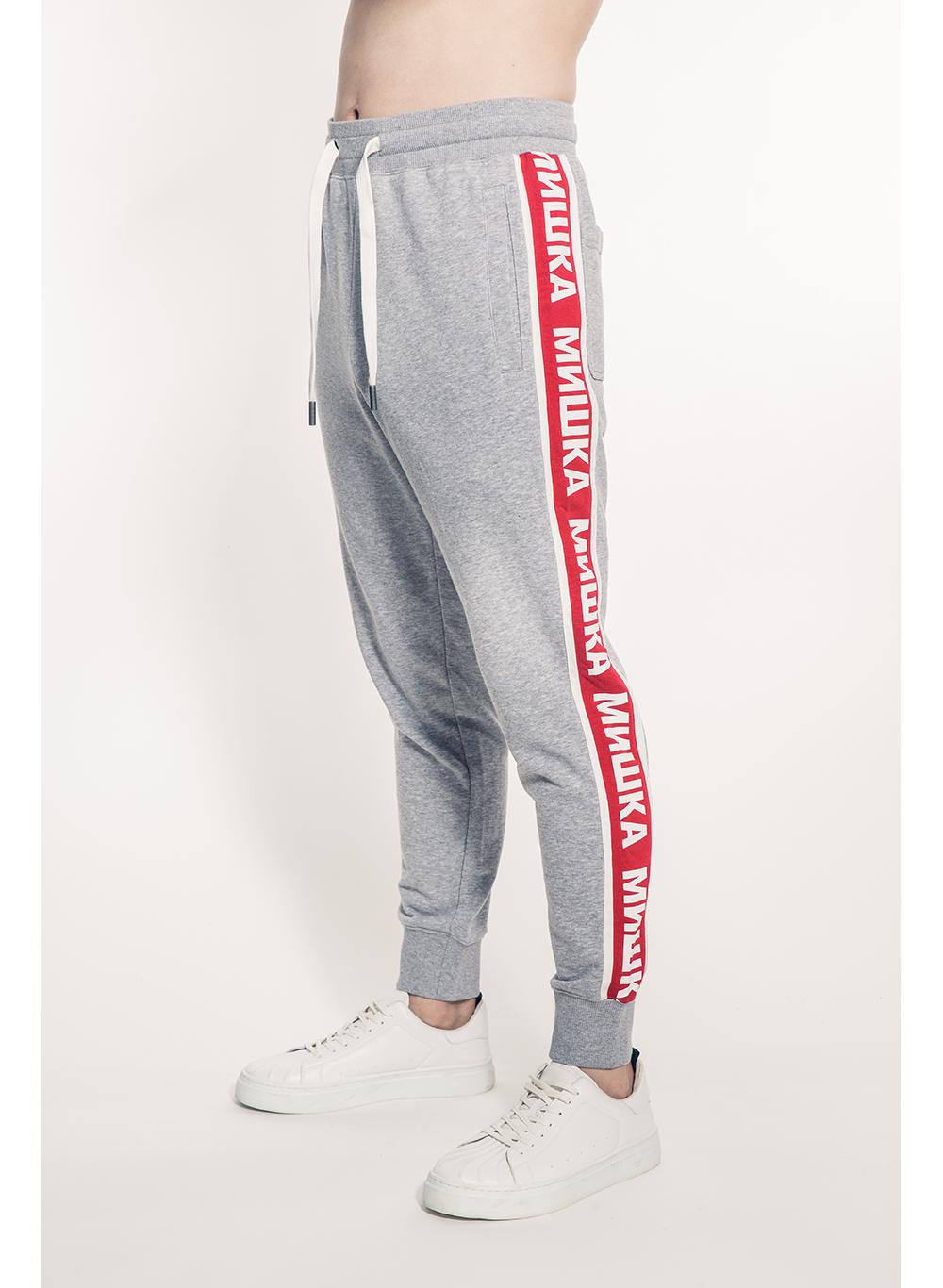 Cyrillic Stripe Sweatpants