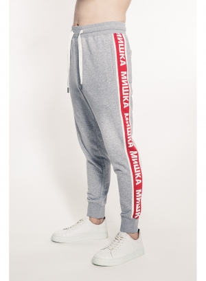 Cyrillic Stripe Sweatpants
