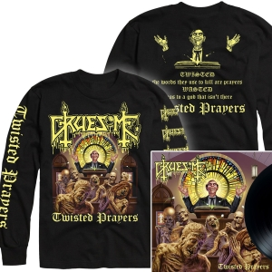Twisted Prayers Longsleeve Shirt + LP Bundle