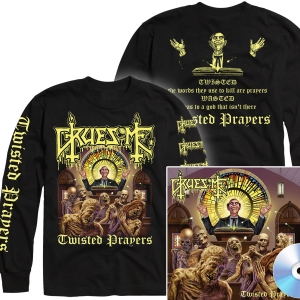 Twisted Prayers Longsleeve Shirt + CD Bundle