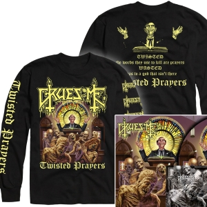 Twisted Prayers Longsleeve Shirt + Deluxe LP Bundle
