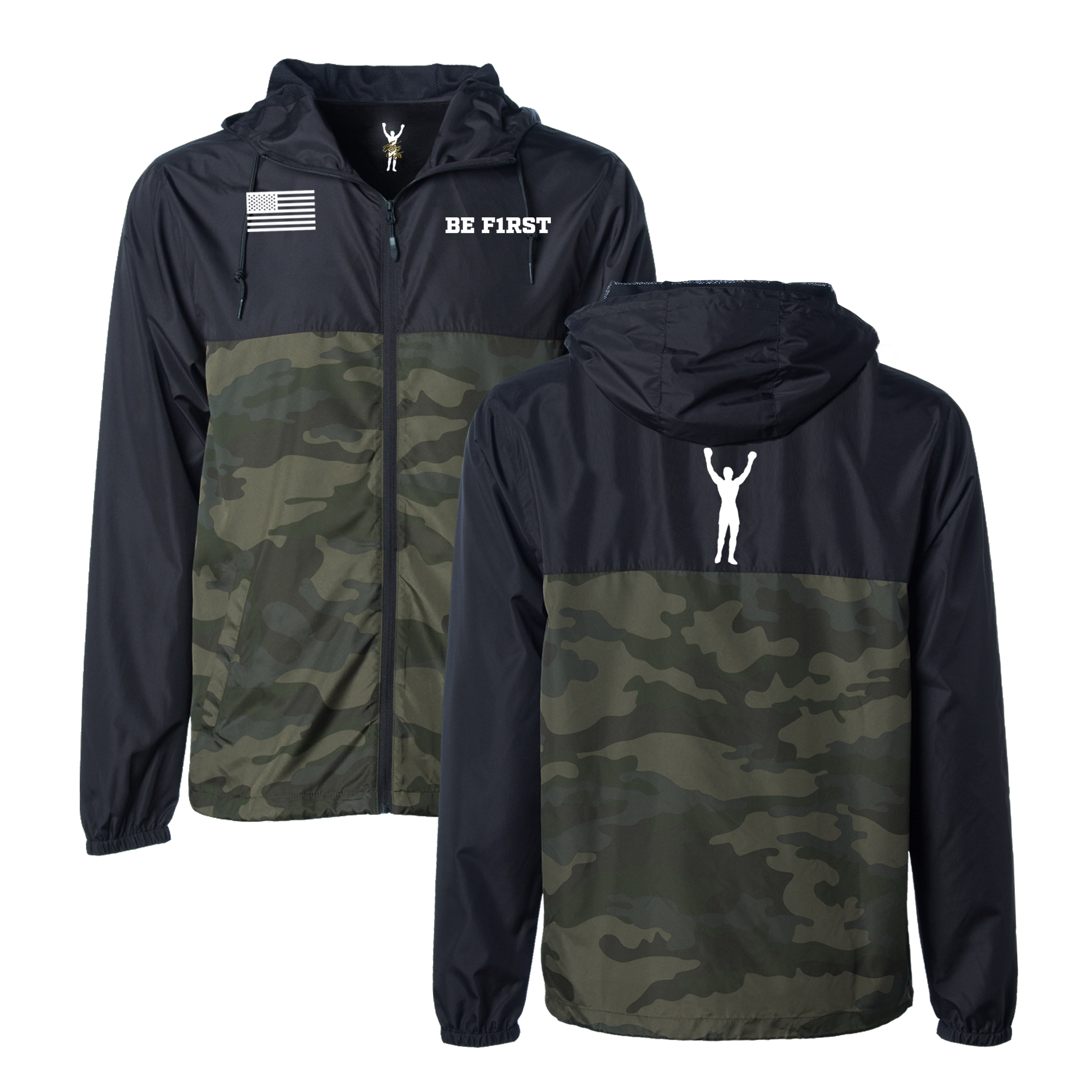 BE F1RST Windbreaker
