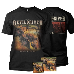 Outlaws Til The End: Vol. 1 Tee Bundle (CD)