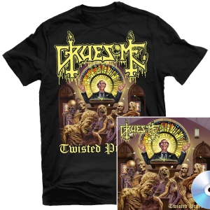 Twisted Prayers T Shirt + CD Bundle