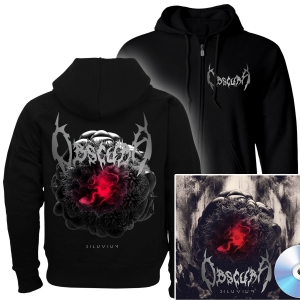 Diluvium Zip Up Hoodie + CD Bundle