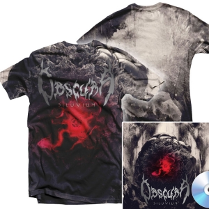 Diluvium All Over Print T Shirt + CD Bundle