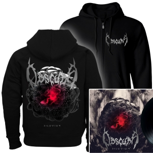 Diluvium Zip Up Hoodie + LP Bundle
