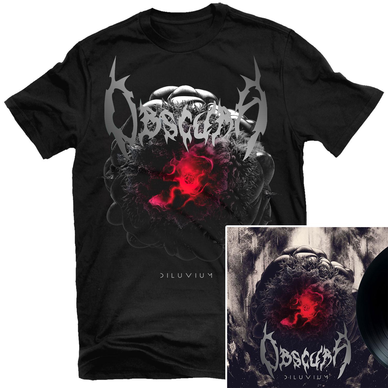 Diluvium T Shirt + LP Bundle
